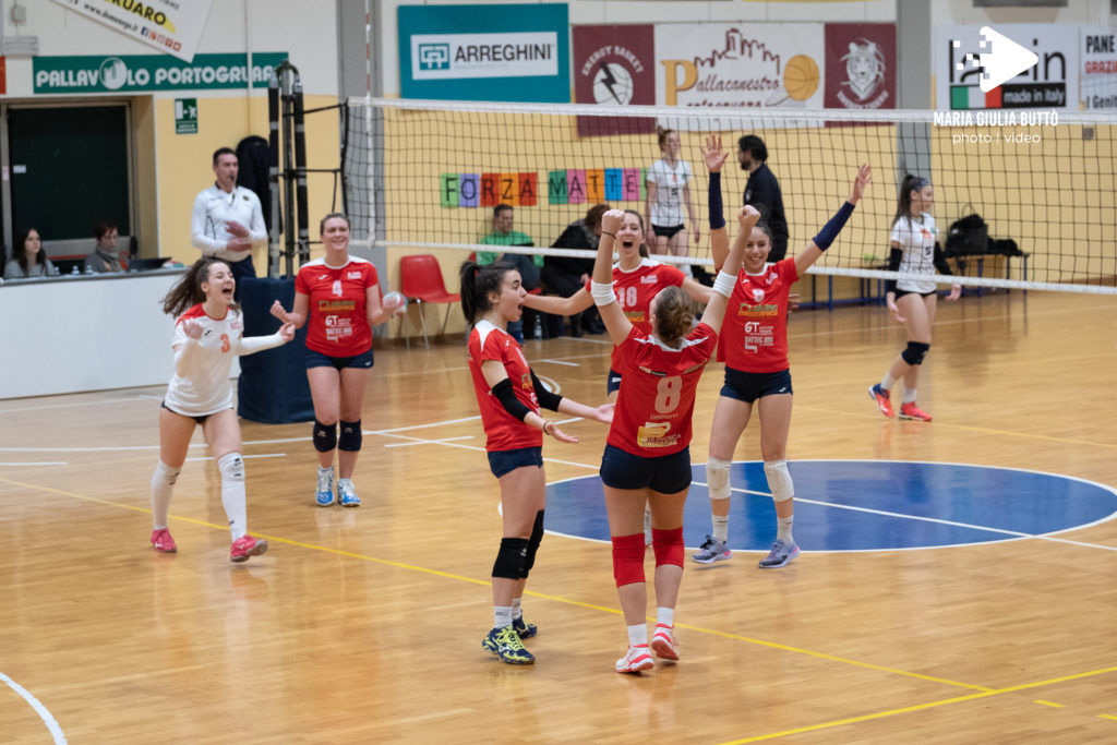 La Serie C di Insieme per Pordenone Volley cede alla Prima in classifica